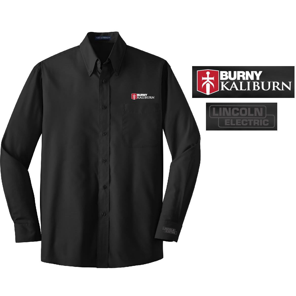 Men's Wrinkle Resistant Poplin Shirt