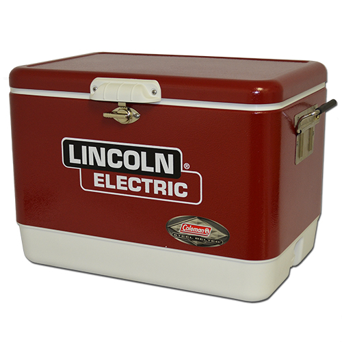 54 Quart Coleman Steel Belted Cooler with Decal