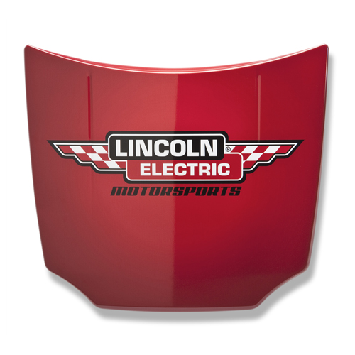 Lincoln Electric Motorsports Car Hood