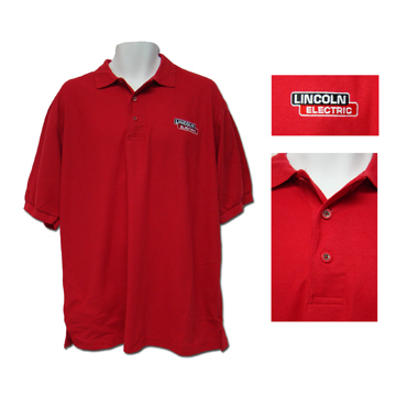 Red Soft Touch Polo
