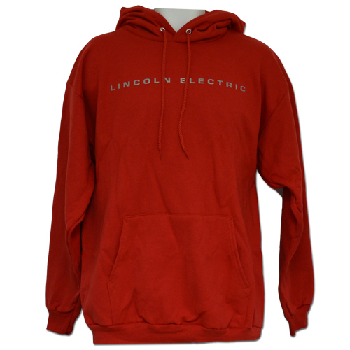 Red Lincoln Electric Hooded Sweatshirt