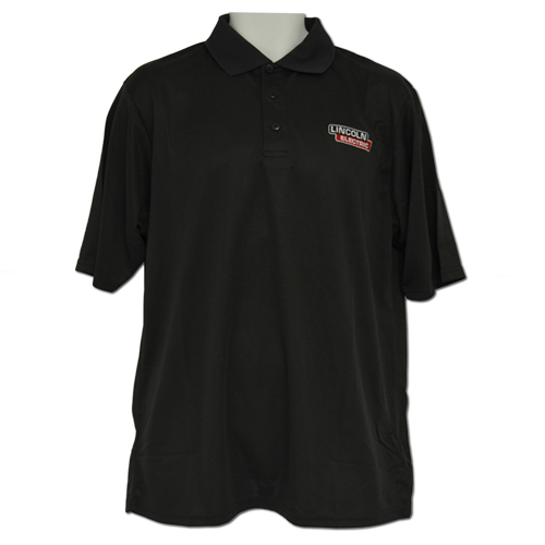 Black Reebok Performance Polo