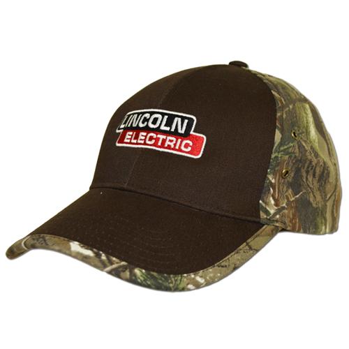 Solid Front Camo Back Cap