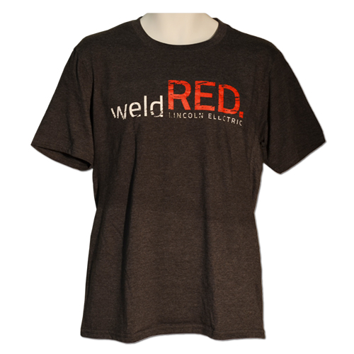 Weld Red Soft Blended T-Shirt