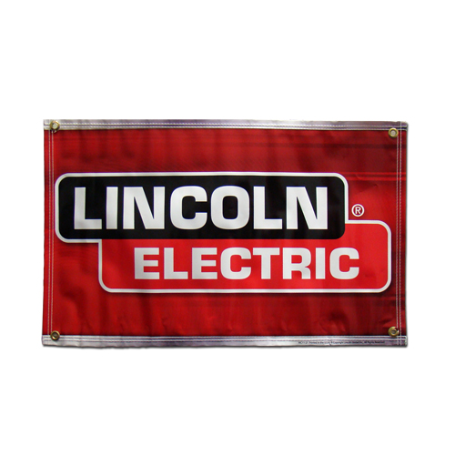 Small Lincoln Electric Banner