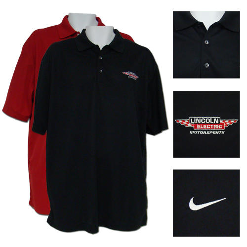 Lincoln Electric Motorsports Nike Dri-FIT Polo